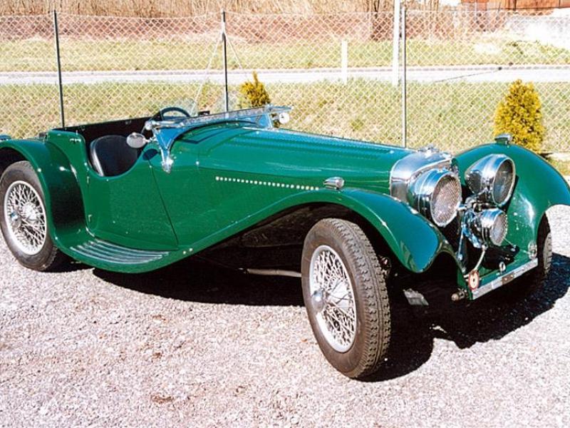 S.S. Cars Ltd. S.S. Jaguar 100
