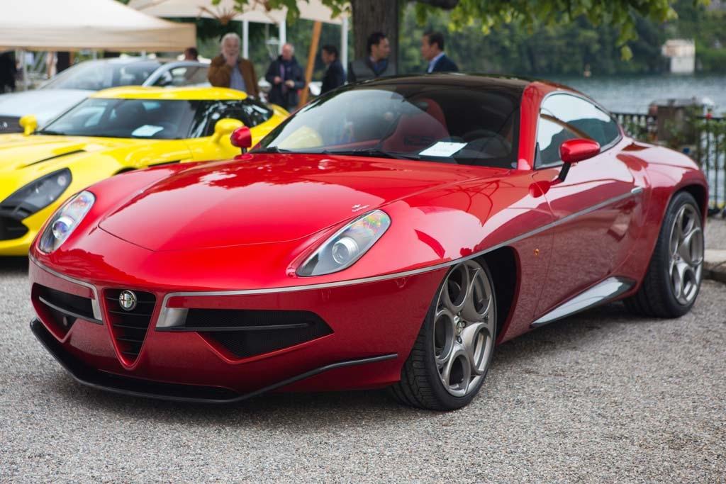 Touring Superleggera Alfa Romeo Disco Volante by Touring