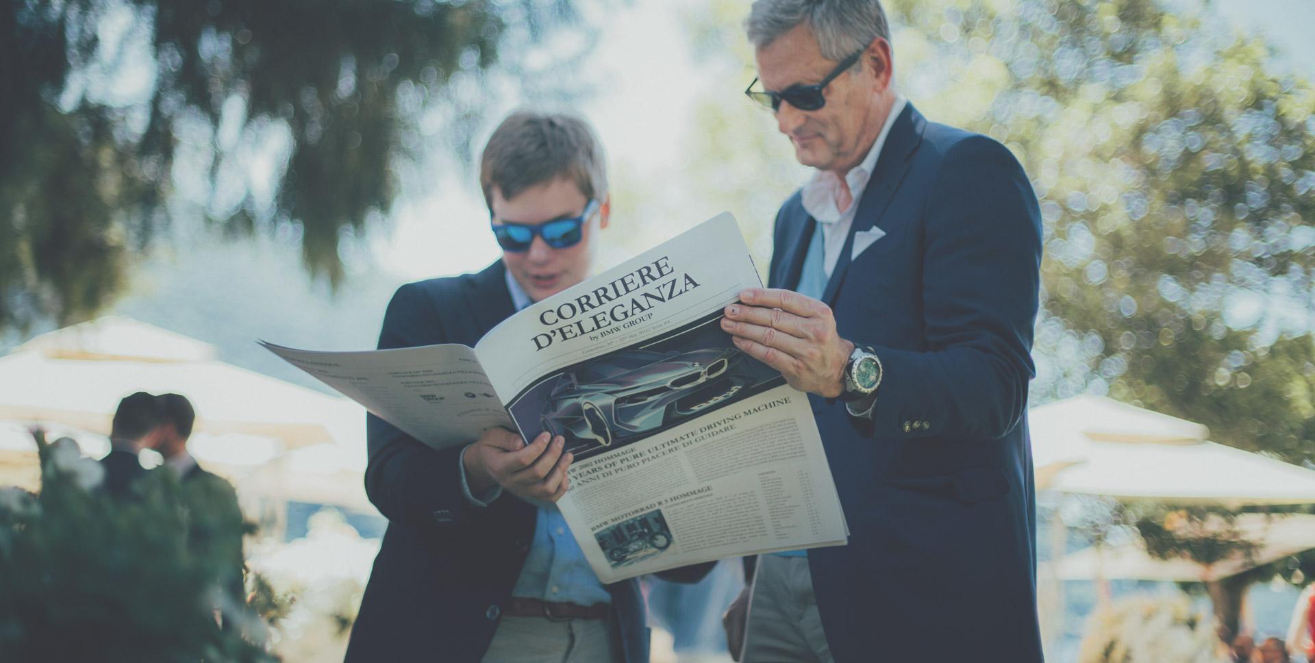 Press material - Concorso d'Eleganza Villa d'Este