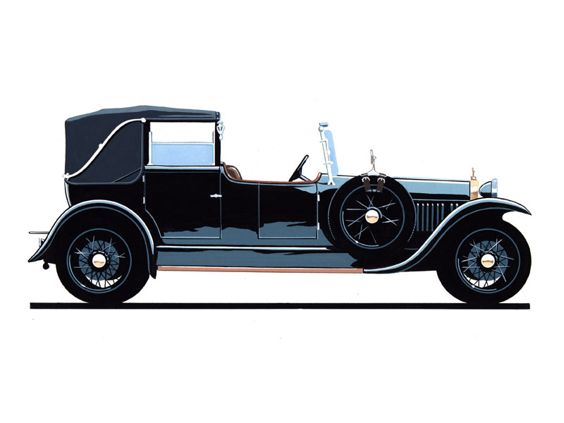Delage CO 4 1/2 Litre