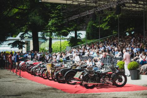 From A to E: the five classes of the Concorso di Motociclette