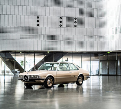 A design milestone returns: The recreation of the BMW Garmisch