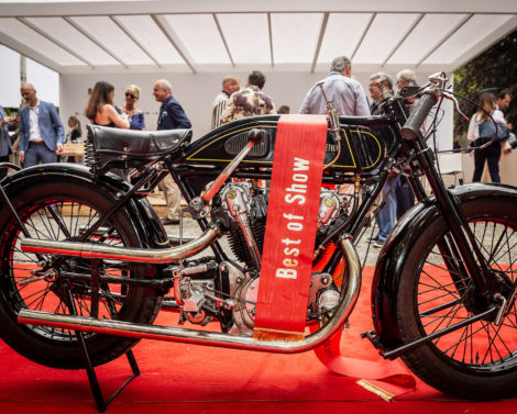 For the ninth year in succession: Historic Motorcycles fascinate the audience