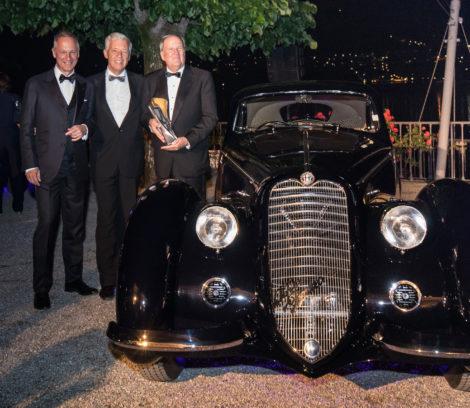 An outstanding winner: Alfa Romeo 8C 2900B impresses Jury and spectators