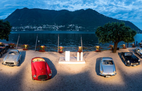Memories of gripping nights: long-distance runners come to Villa d'Este